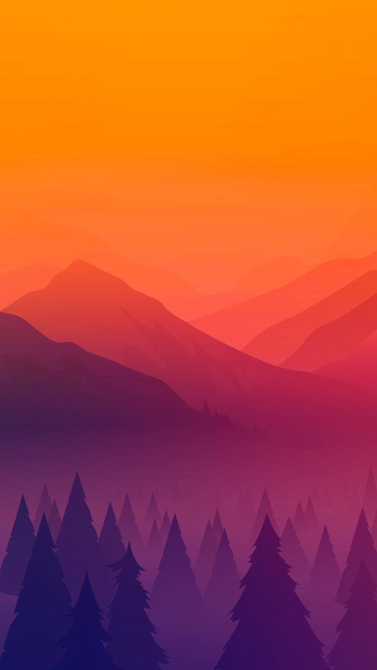 Nature Mountain Forest Art Iphone Wallpaper Abstract Iphone Wallpaper Art Wallpaper Iphone Forest Art