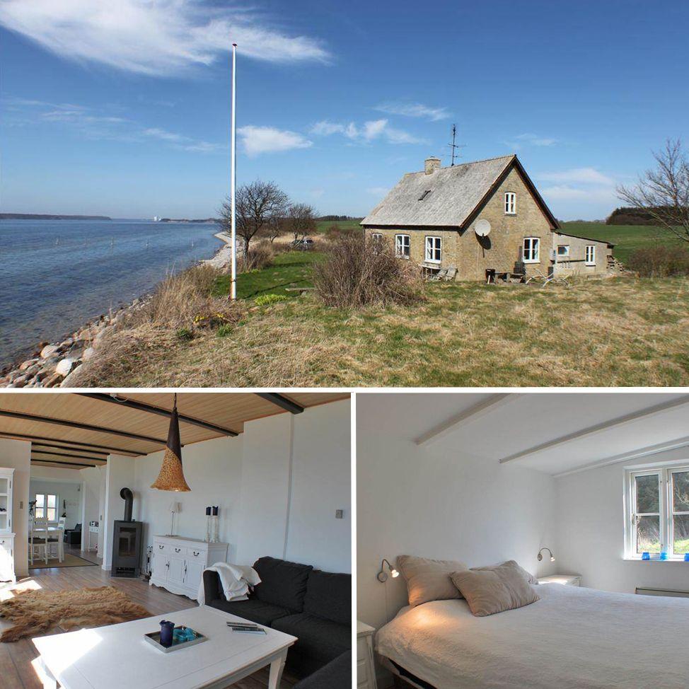 Idyllisch Gelegenes Ferienhaus Direkt Am Meer Danemark Funen Urlaubmithund Ferienhaus Direkt Am Meer Ferienhaus Ferienhaus Danemark