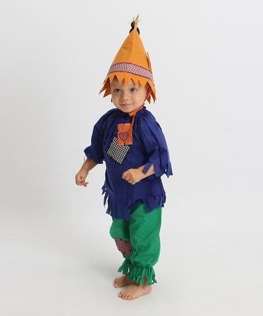 B would be so cute ) Take a look at this Green  Blue Scarecrow - scarecrow halloween costume ideas
