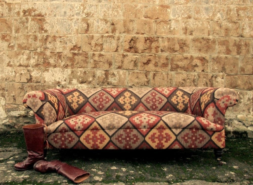 Victorian Chesterfield Sofa Andrew Martin Corrientes Hand Made