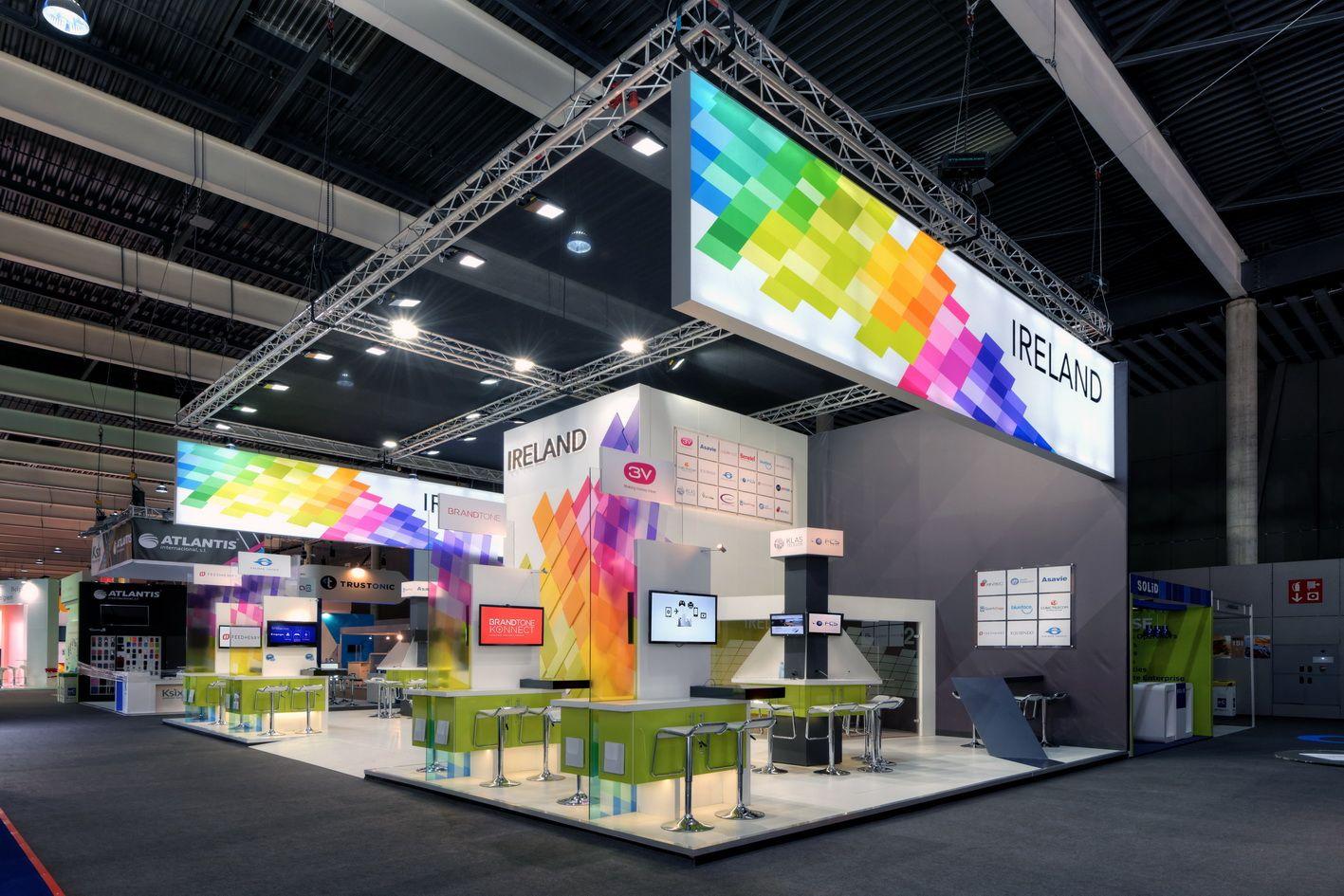 Exhibition Stand Design Barcelona : Enterprise ireland stand gsma mobile world congress