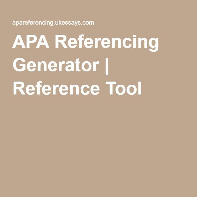 apa reference converter