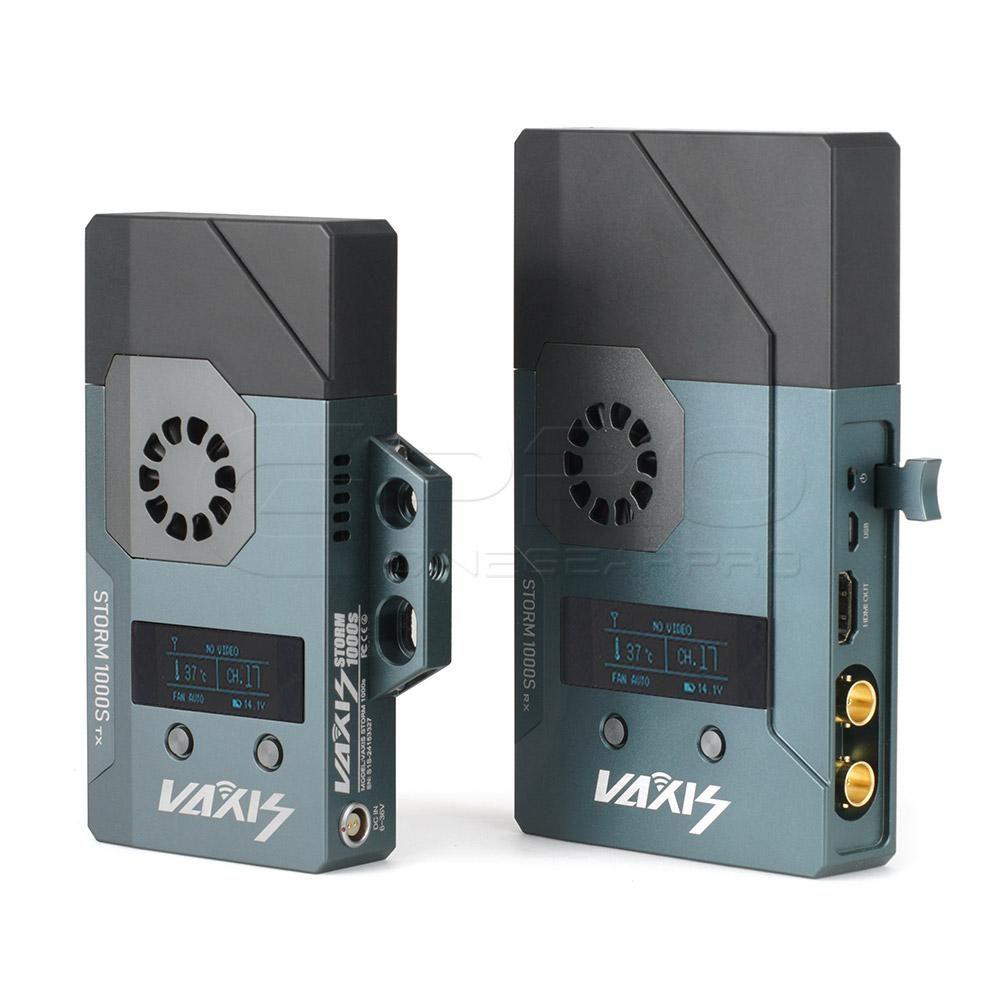 VAXIS Storm 1000S 3G-SDI/HDMI Wireless Transmission System (300m/1000f– CINEGEARPRO SHOP