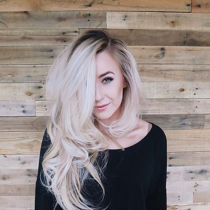 Image Result For Blonde With Dark Roots Hair Ideas Pinterest