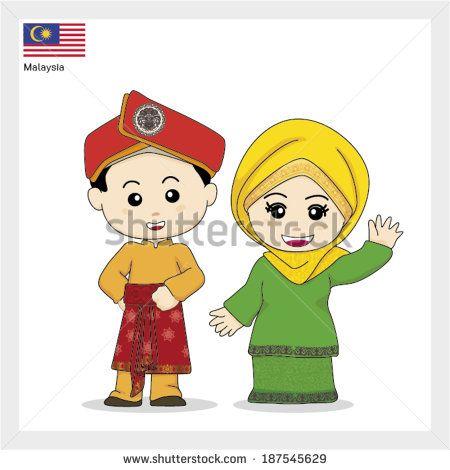 Cartoon ASEAN Malaysia