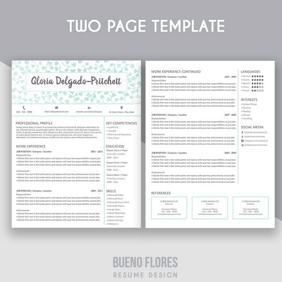 Introducing  - resume reference sheet