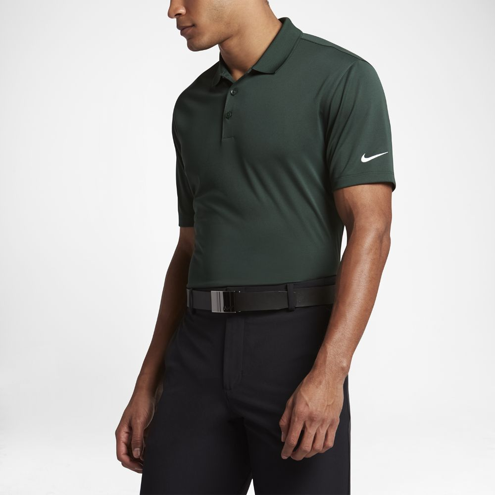 90cb56b7 Nike Victory Solid Men's Standard Fit Golf Polo Shirt Size ...
