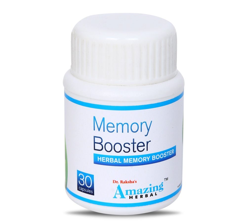 Memory Booster Herbal Memory Supplement Herbalism