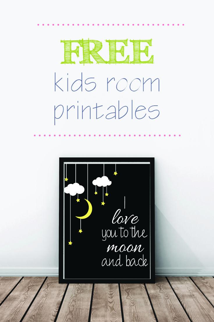 FREE-kids-room-printable-5.jpg (735×1103)