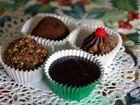Ganache à truffes - Recette de ganache pour les truffes au chocolat de Noël - Recette par Chef Simon