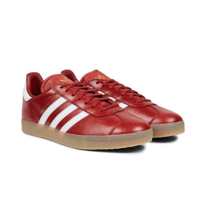 best service c56ed 00024 adidas Originals Gazelle mystery redfootwear whitegold metallic