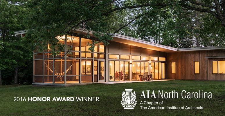 Hammock House Wins 2016 Honor Award From Aia Nc House Aia Modern Farmhouse