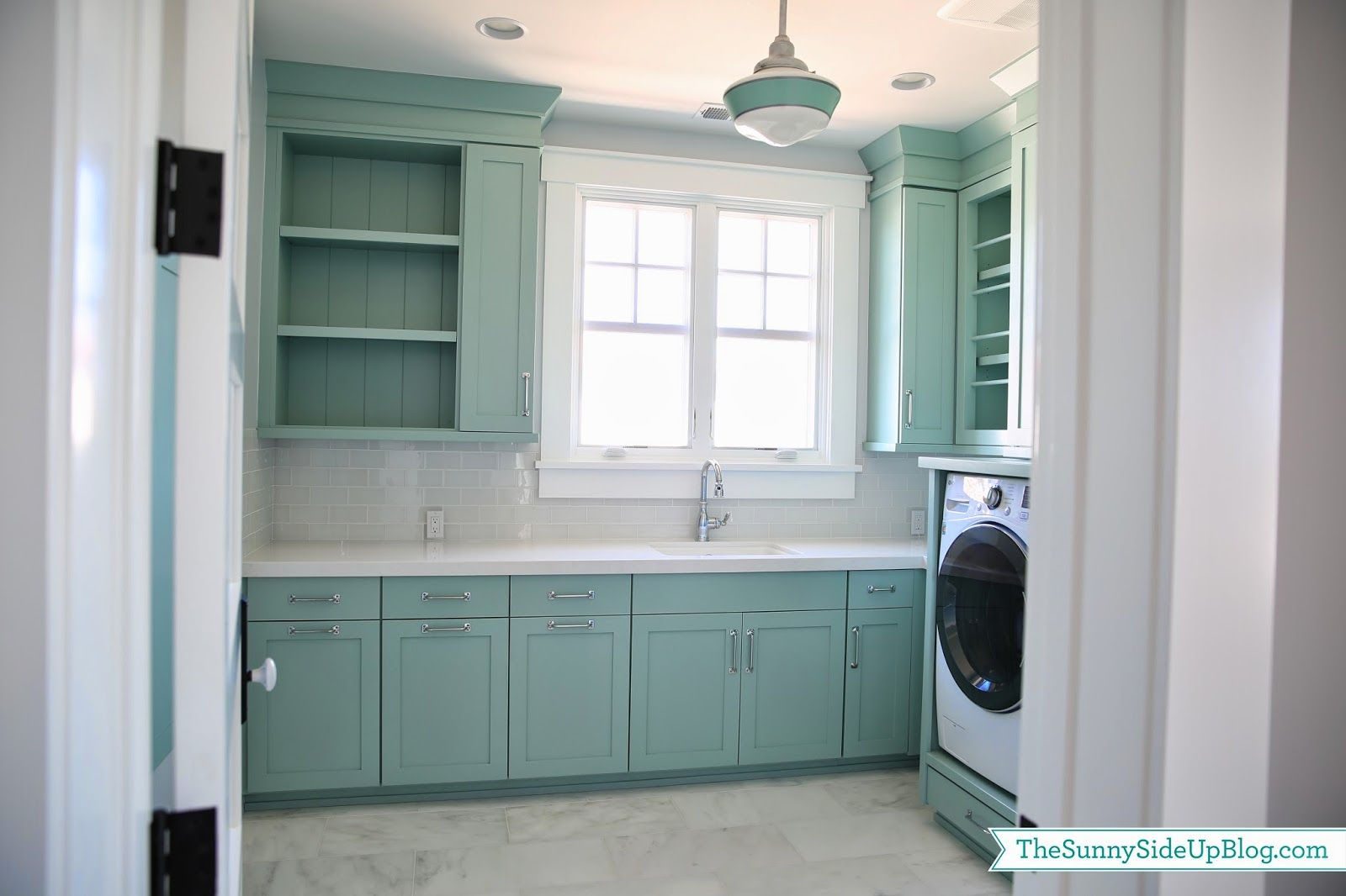 Upstairs Laundry Room | Laundry rooms, Laundry and Painted front doors