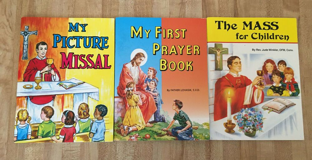 Details about st joseph picture books lot of 3 catholic