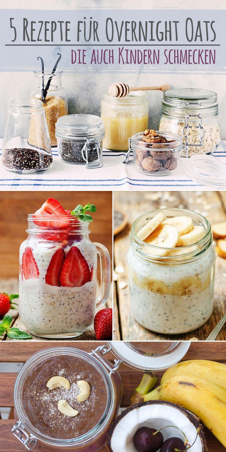 Wenn es morgens mal schnell gehen muss, sind Overnight Oats die perfekte Wahl fürs Frühstück.