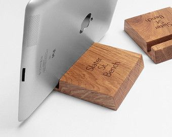 Photo of Wooden Cable and Charger Organizer – Cable Management for Power Cords and Charging Cables