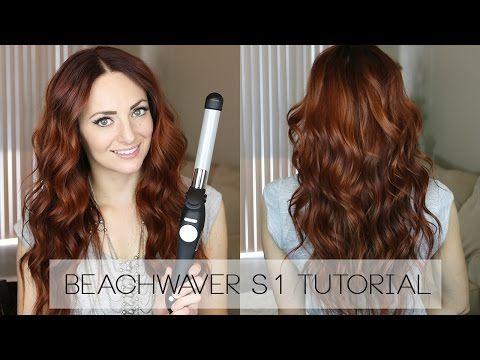 Beachy Waves Tutorial Using The Beachwaver S1 Beachy Waves Hair Beachy Waves Hair Tutorial Hair Tutorial