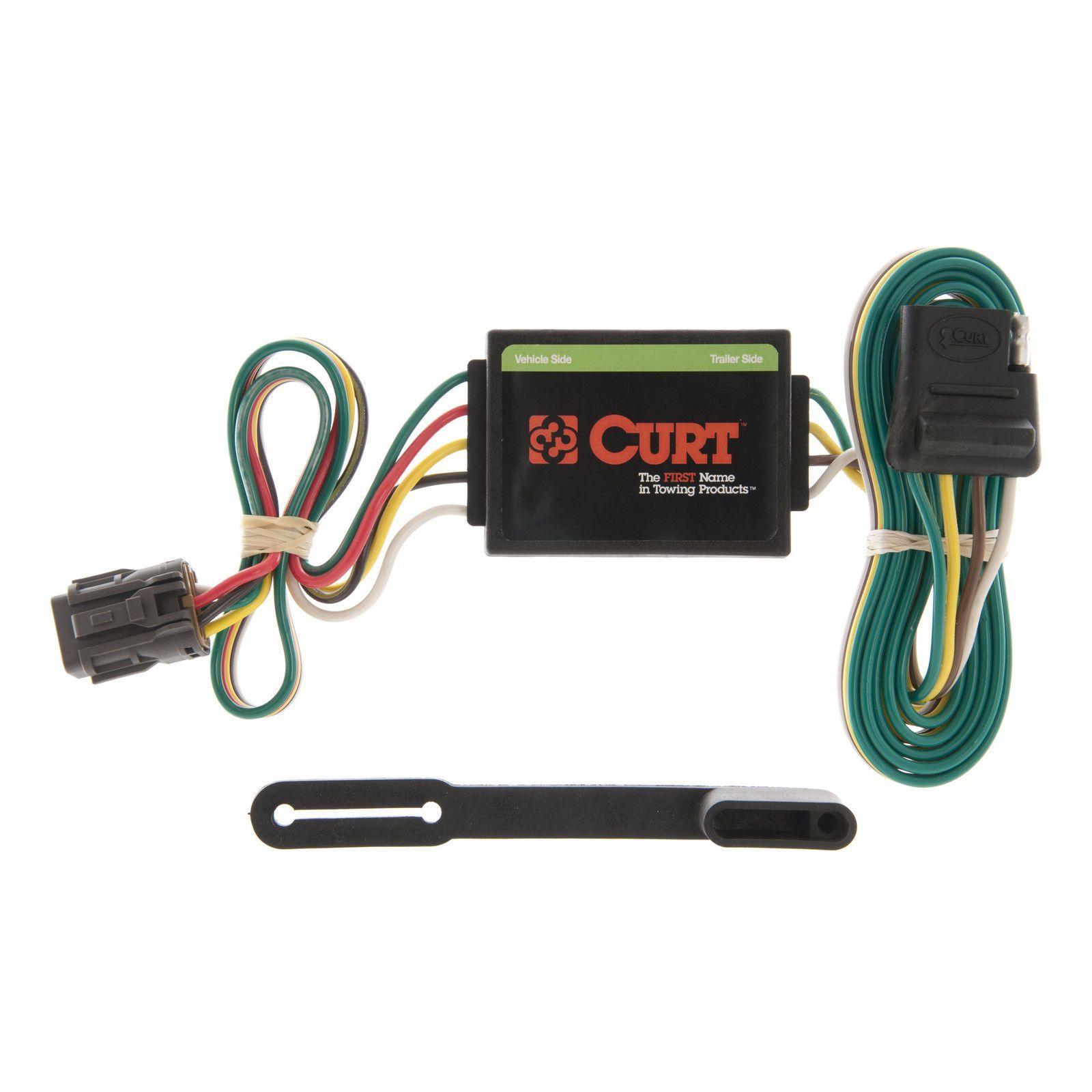 Curt 55331 Wiring Connector For 94-97 Honda Passport, 92-97 Isuzu Rodeo