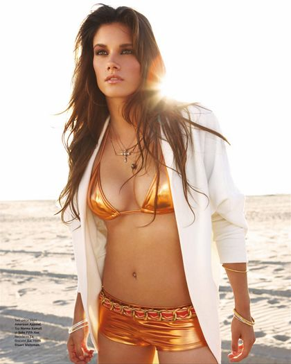 Missy Peregrym Hot Brunette Plays A Cop Sometimes Over Emotional In The Show Love The Swimsuit