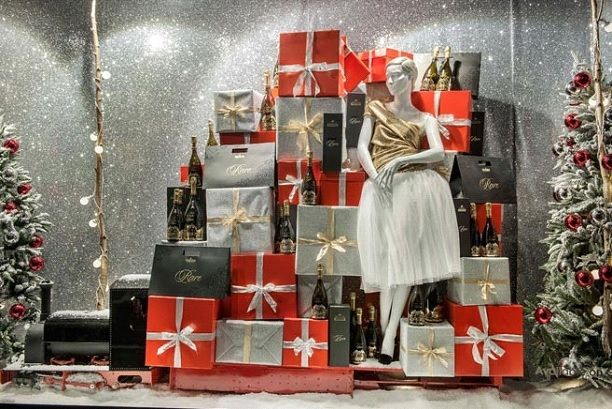 5 Tips For Creating Retail Holiday Windows Displays On A Budget In 2020 Holiday Window Display Christmas Window Display Christmas Display
