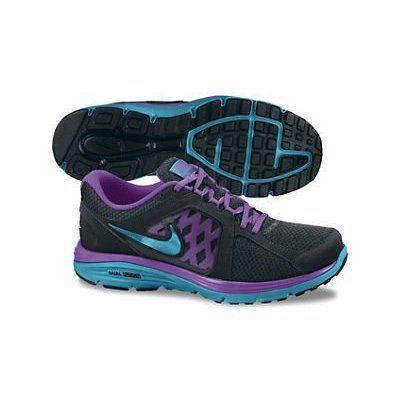 e64cbb17848 Womens Nike Dual Fusion Run Running Shoe Black La ( 80)