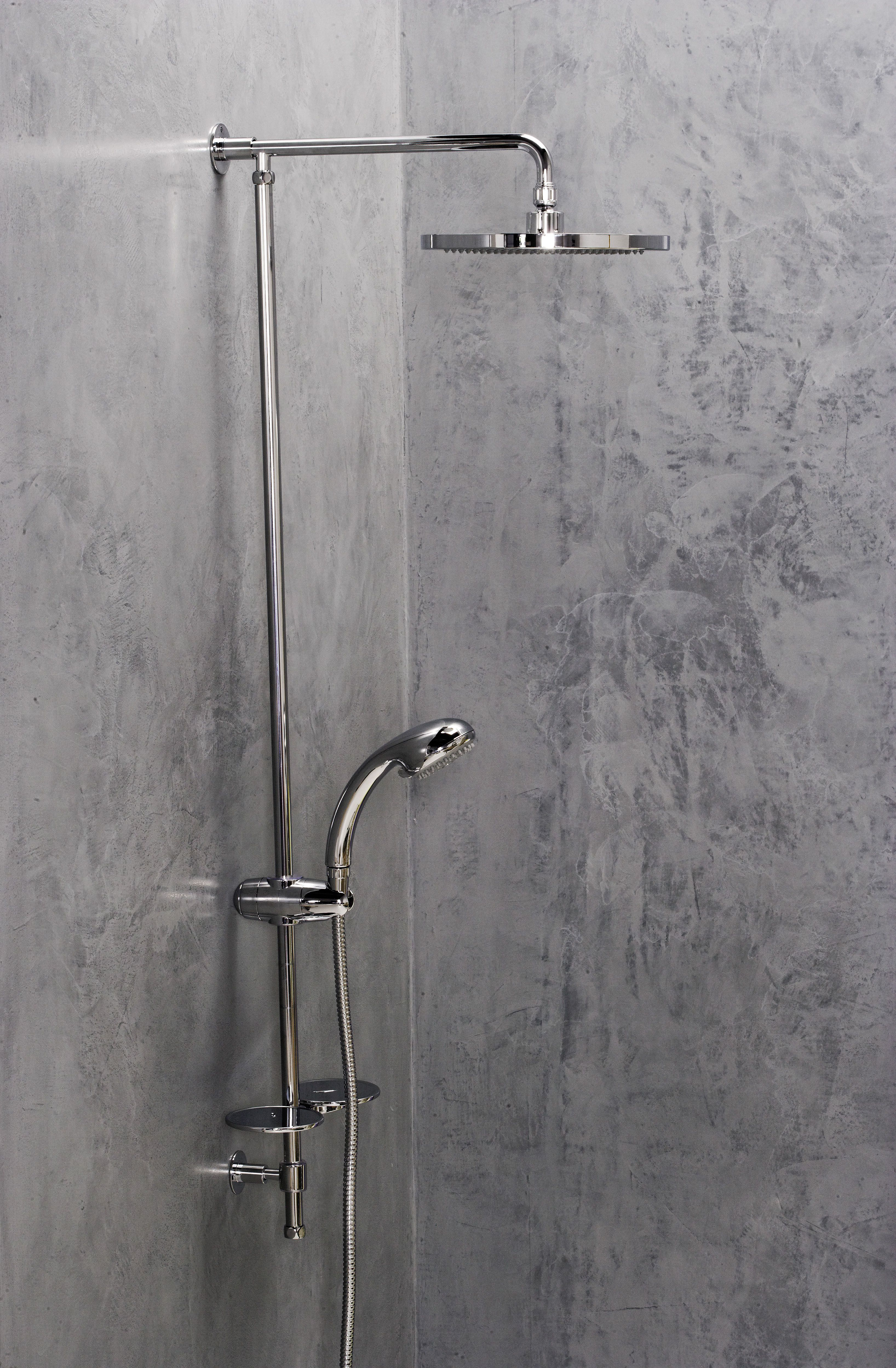 Great Protector For LOFT Polished Concrete   Shower