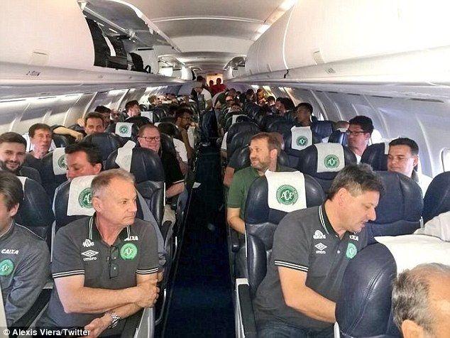 Chapecoense S Last Team Photo Reveals The Toll Of Plane Crash