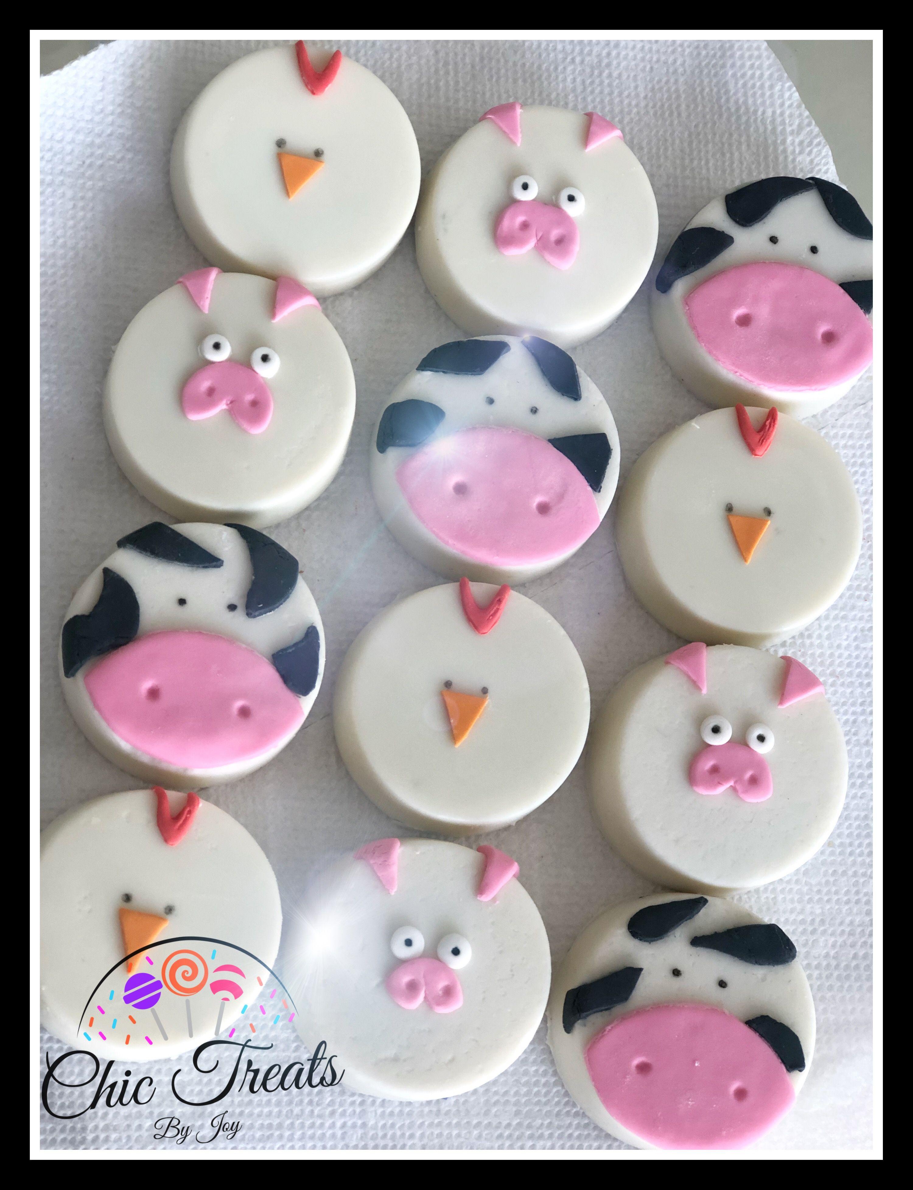 Farm oreos with images oreo cake pops desserts