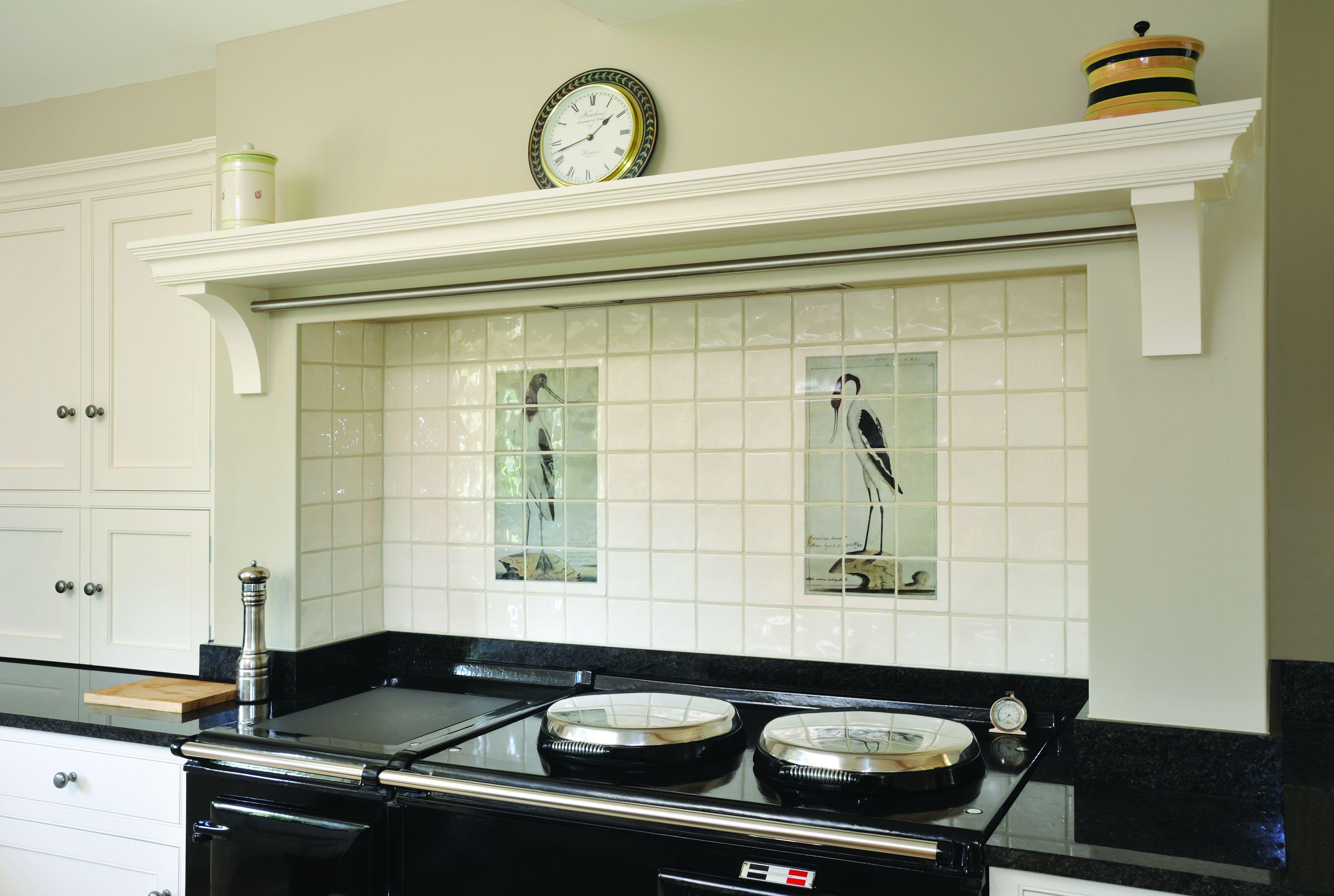 Tiled oven splashback husky 52 tool chest