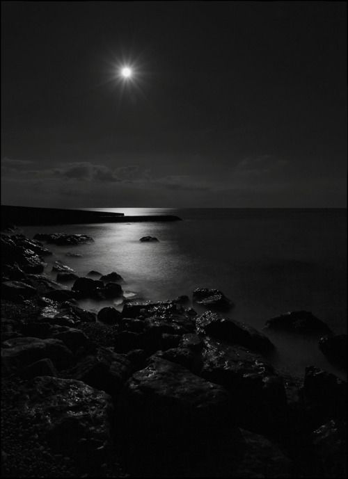 Luna Sul Mare Shades Of Black Dark Fantasy Dark Photography