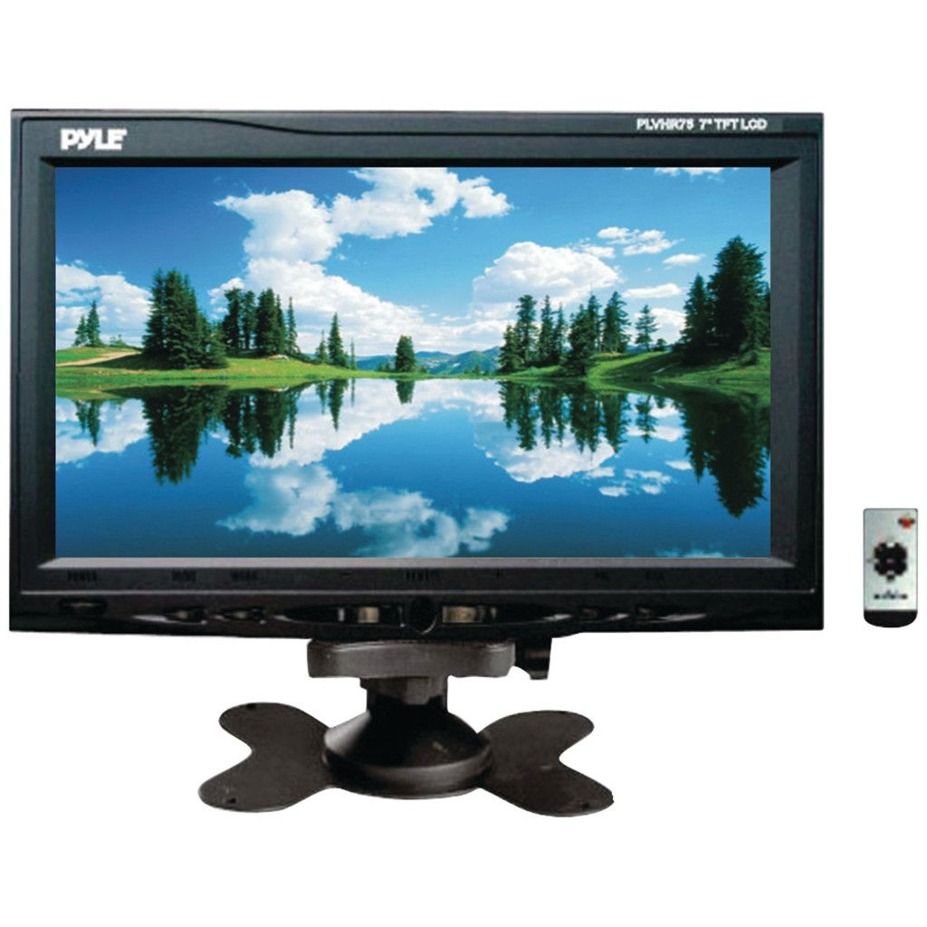 Pyle 7 Headrest Monitor Headrest Headrest Dvd Monitor