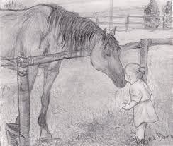 Risultati immagini per disegni a matita cavalli schizzo for Disegni di cavalli a matita