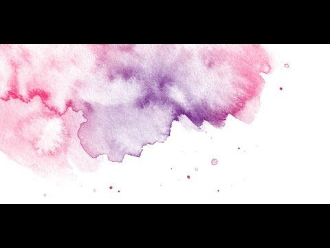 How To Create A Watercolor Photoshop Brush Watercolor Texture