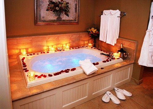 36 Romantic Bathroom Ideas Con Imagenes Tinas De Bano