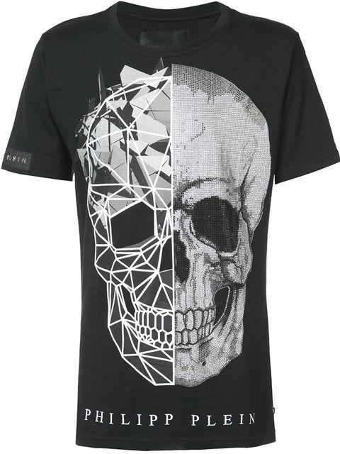 7bad7145b4 PHILIPP PLEIN 'A Big Trouble' T-Shirt. #philippplein #cloth #t-shirt ...