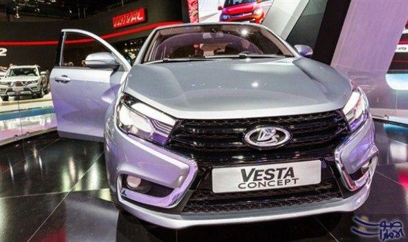 سيارة لادا فيستا تدخل قائمة السيارات الأكثر دخلت سيارة لادا فيستا الروسية قائمة السيارات الـ100 الأكثر مبيعا فى أوروبا واحتلت المركز Car Vehicles