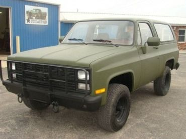 1986 Chevrolet M1009 Cucv Blazer K5 Military 4x4 Us 7 980 00