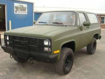 1986 Chevrolet M1009 Cucv Blazer K5 Military 4x4 Us 7 980 00 Image Chevy Vehicles Chevy Trucks Jeep Suv