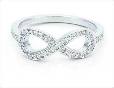 Tiffany Infinity Ring Tiffany infinity rings Infinity and Tiffany