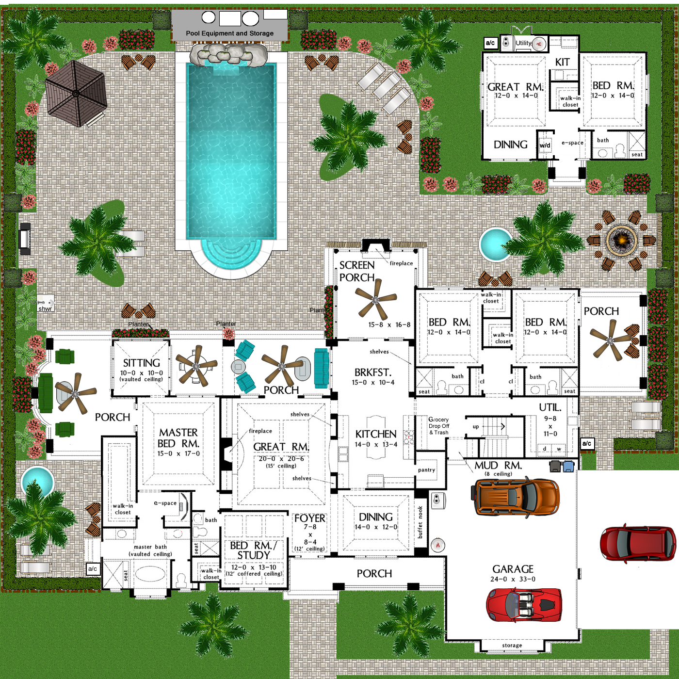 Ok I Went A Little Crazy With The Editing On This One Lol The Original Floor Plan Can B Mansion Floor Plan Multigenerational House Plans Dream House Plans