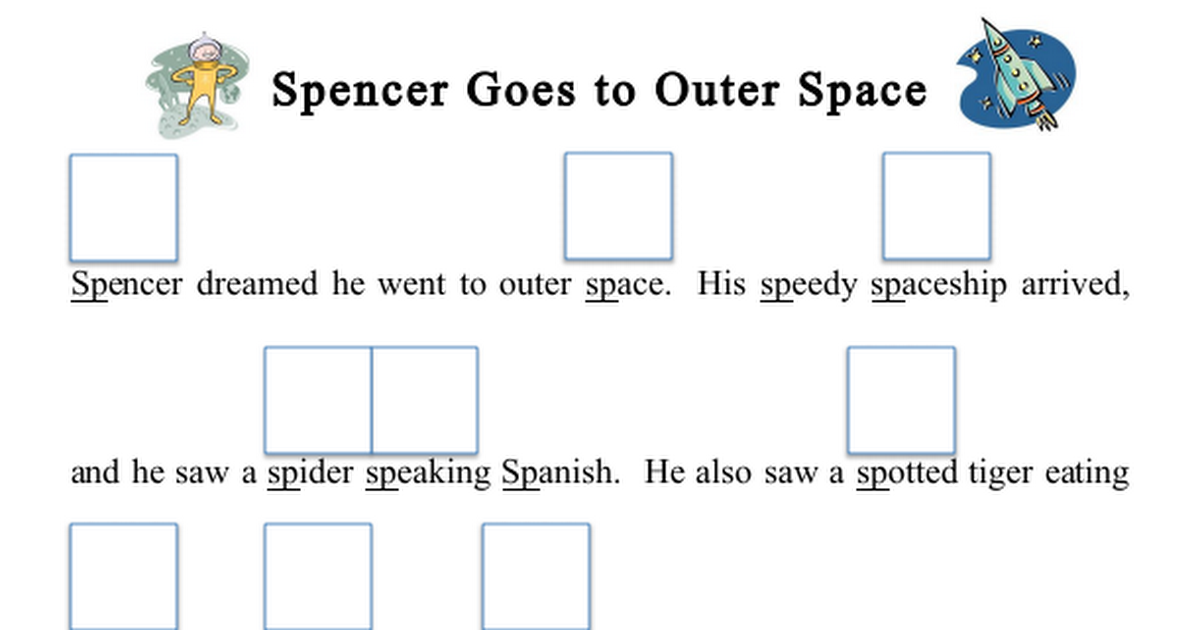 Artic Sp Blends Story Activity.pdf How to speak