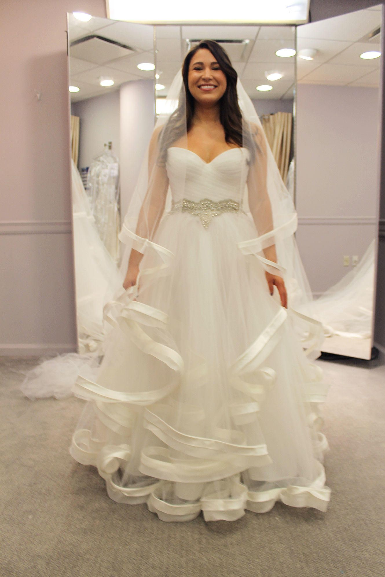 Season 14, Featured Dresses | Veil, Beautiful wedding gowns and Wedding