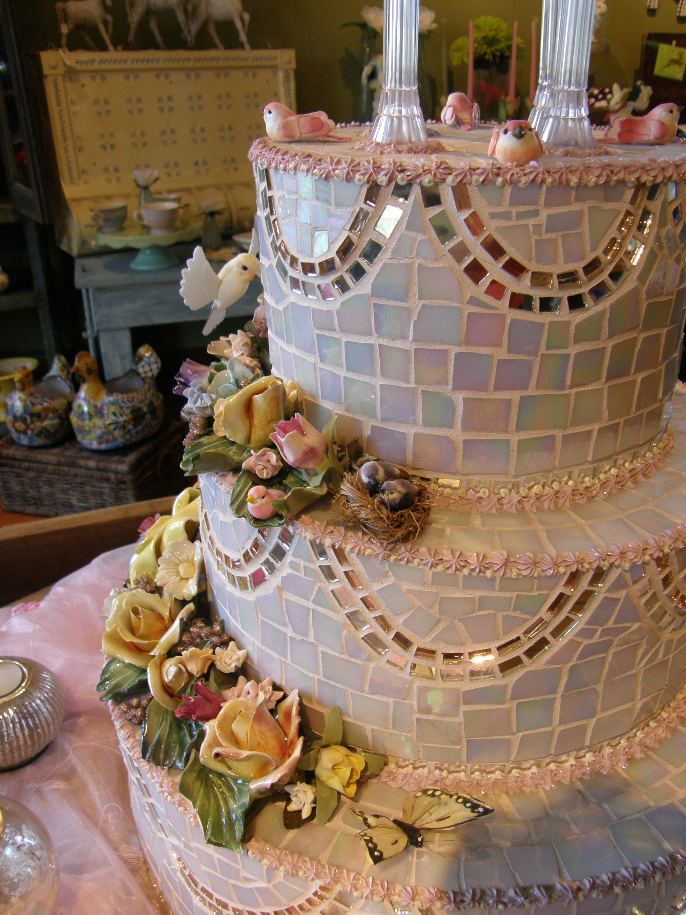 lots of tile work | cake ideas | pinterest | wedding cake, cake