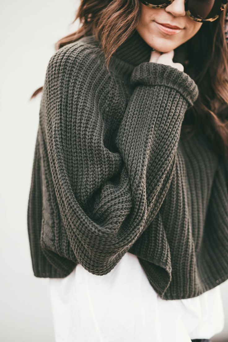 oversized sweater, causual outfit | ❥ winter style. | Pinterest ...