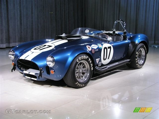 1965 Original Color Guardsman Blue Cobra Shelby Cobra 1965