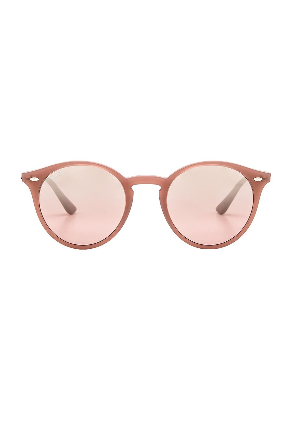 49c1b821dca89f Ray-Ban Round Classic in Opal Antique Pink Pink Mirror Silver Gradient