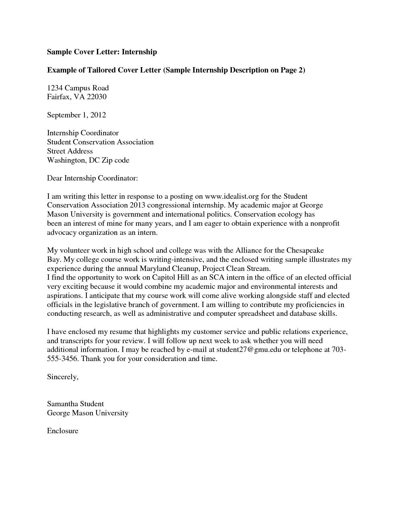 cover letter congressional internship - Suzen rabionetassociats com