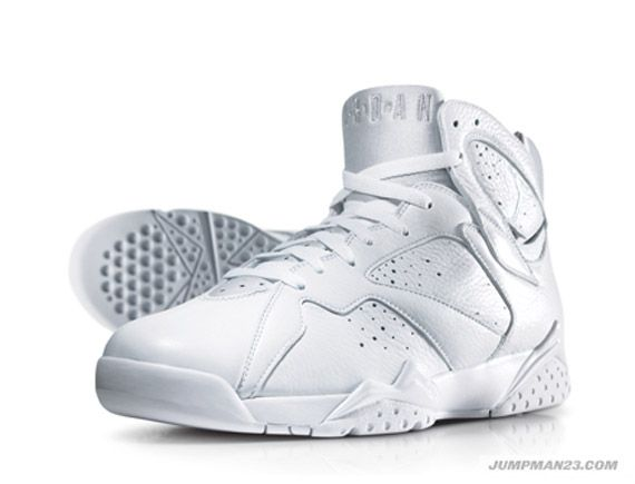 Air Jordan All White Collection