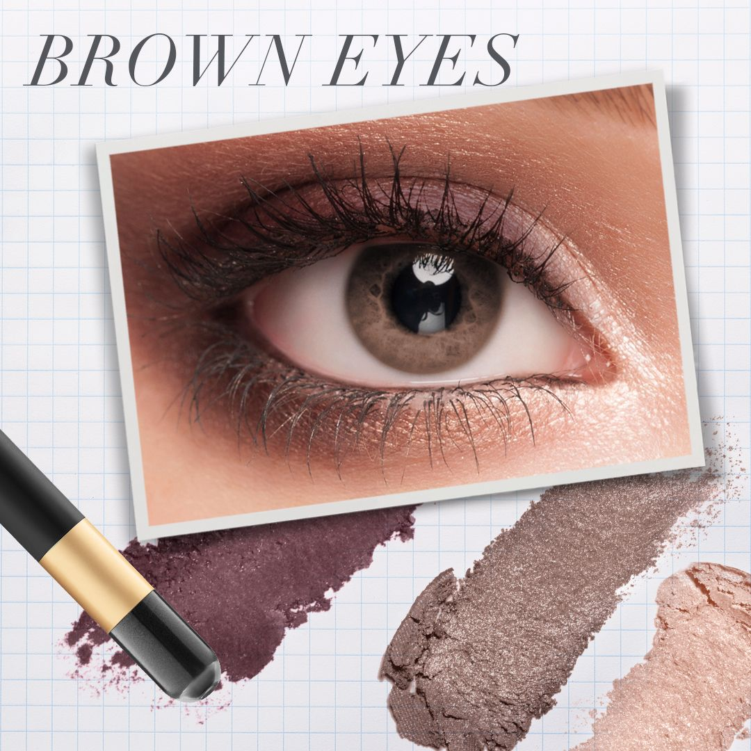 The Best Eye Makeup for Blue, Green & Brown Eyes Hazel
