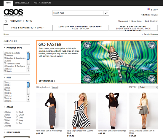 Tiendas de ropa online con envío a México gratis